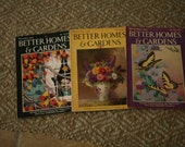 Vintage 1920s and 1930s Better Home and Garden Magazines (set of 3 magazines), Mid Century, Vintage Reading, Coffee Table Book