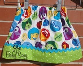 Girls Inside Out Skirt, Inside Out, Joy, Sadness, Anger, Fear, Disgust, Made to order 12 month, 18 month, 2t, 3t, 4t, 5t, 6, 8
