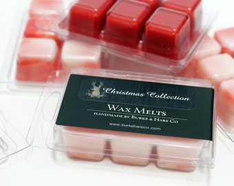 Christmas Candle - Peppermint - Wax Melts - Tart Burner
