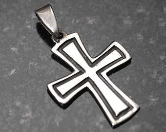 Nice  Sterling Silver Cross Pendant