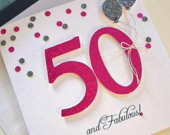 Age Specific Birthday Card: 50th Birthday