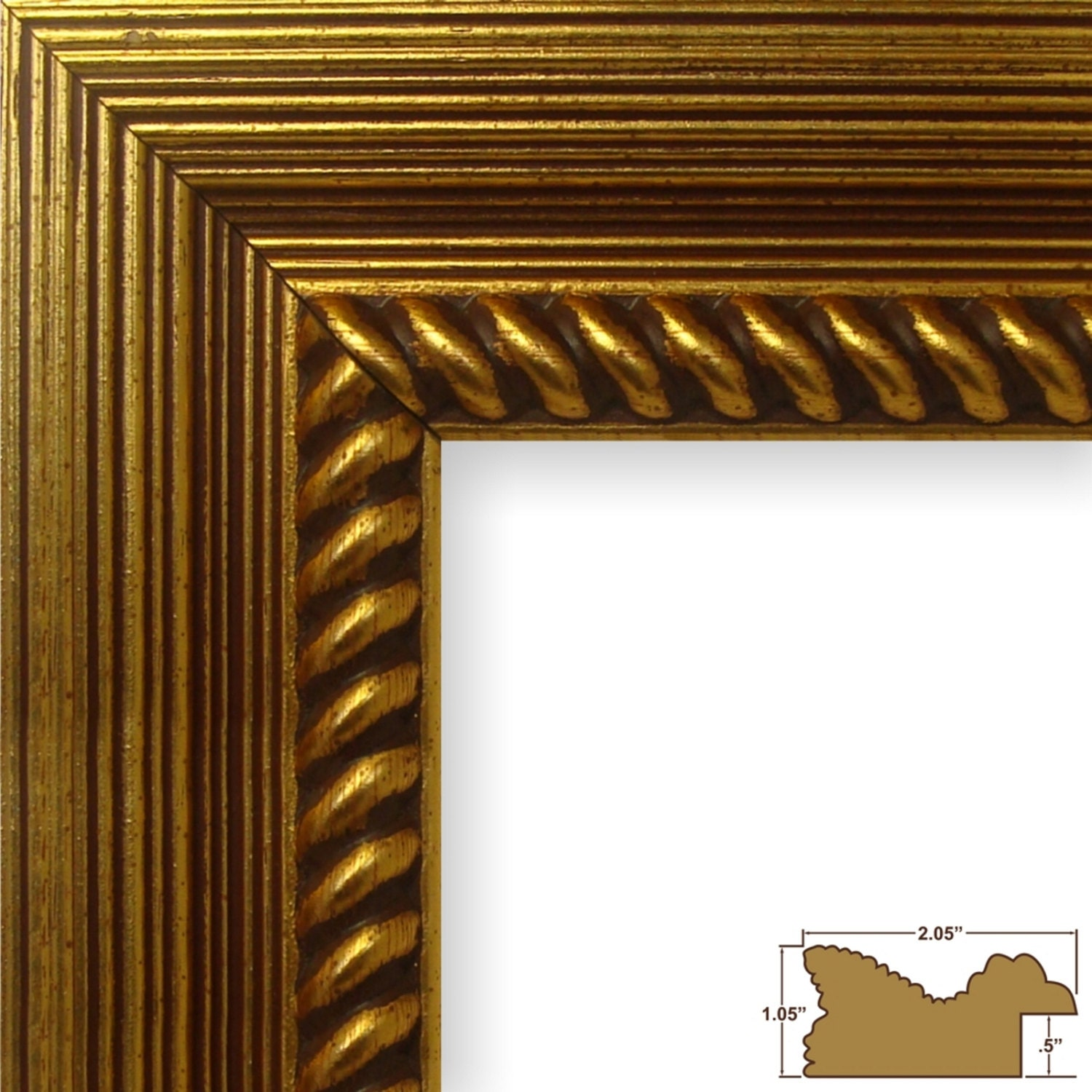 Craig frames 20x20 inch rustic antique gold picture frame sold by craigframes jeuxipadfo Image collections