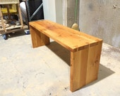 Reclaimed Doug Fir Dovetail Bench