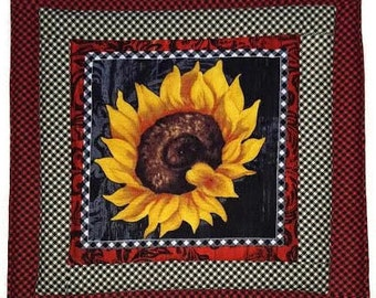 Sunflower Pot Holder, Wedding Gift, Hostess Gift, Gift for Baker, House Warming Gift, Fabric Pot Holder, Pot Holder, Hot Pad