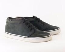 Vintage 1990's Vans Suede Skate Shoes Trainers Men's UK 9 EU 43 US 10