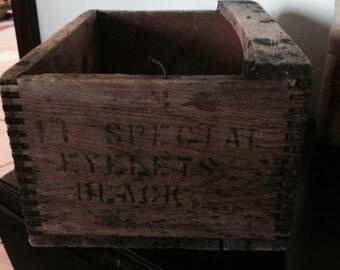 Antique/Vintage Wooden Box