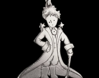 Pequeño principe Pendant /Little Prince Silver