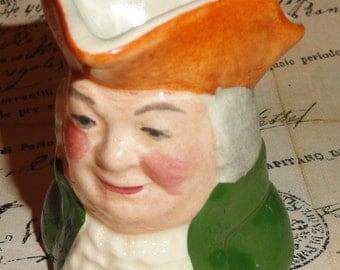 Handmade In ENGLAND British Miniature Figural Mini SQUIRE Barware Bar Character Mug Toby Jug Collection