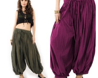 UNISEX HAREM PANTS, yoga trousers, harem pants men, harem pants, aladdin pants, Votrla