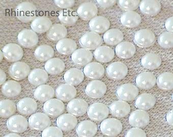 Pearls Swarovski 10ss Flat Back 36 pieces