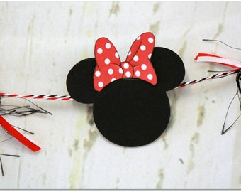 Minnie Garland. Party Garland. Disney Party