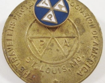 Travelers Protective Association Watch FOB