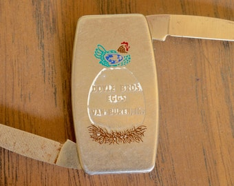 Zippo Money Clip Knife - Doyle Bros Eggs