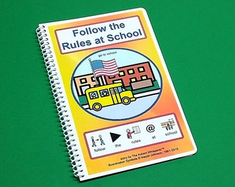 Follow the Rules at School - Autism Social Story - Elementary School and Secondary Level - by The Autism Whisperer- Social Skills Story