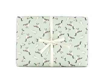 Duck Duck Goose Gift Wrap