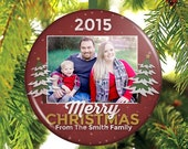 Family Christmas Ornament - Custom Christmas Ornament