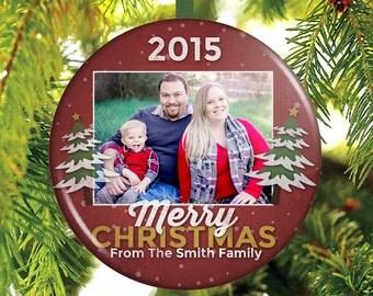 Family Christmas Ornament - Custom Christmas Ornament