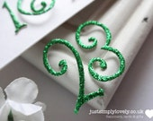 Die Cut Glitter Card Numbers (Advent Set 1 - 24) Christmas Crafts!