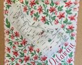 Vintage Handkerchief - Delaware