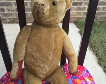 Sale - Adorable Antique American Teddy Bear