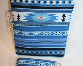 Handcrafted Crossbody Bag- Native American-Southwest Themed  Adj Strap