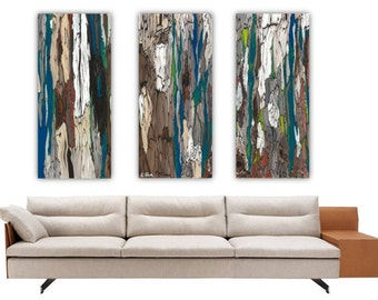 Teal And Brown Wall Art extra large wall art canvas abstract acrylicshoagallery