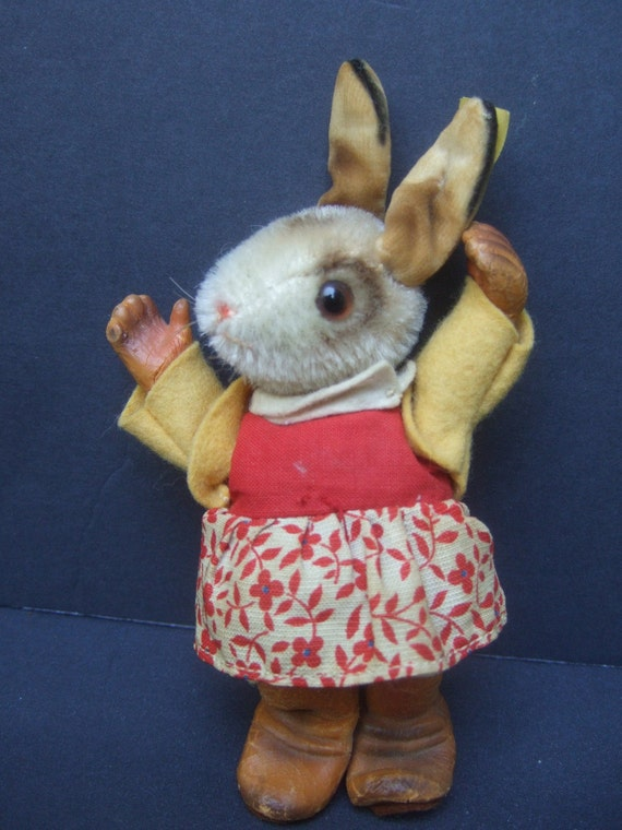 Adorable Vintage Steiff Rabbit Made in Germany