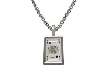 King of Spades Pendant Necklace