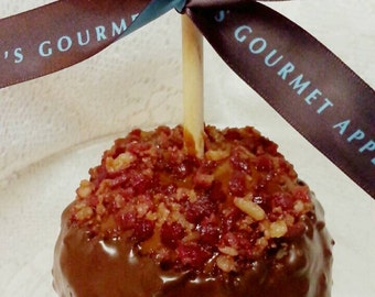 Bacon Caramel Apple