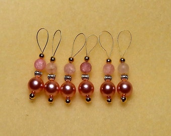 Fabulous Shades of Pink Size 11 Snag Free Stitch Markers