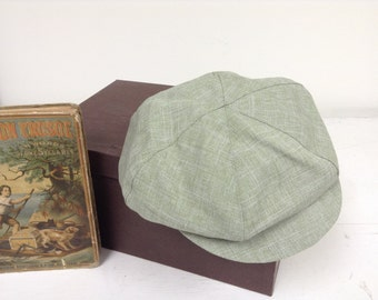 Sage green newsboy Hat, sage green beret hat for little boys, pageboy hat,photo prop for boy
