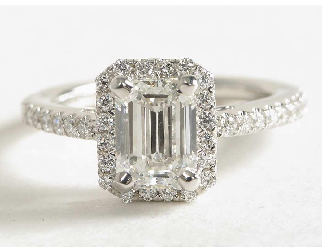 GIA Certified Flawless Emerald Cut 2.00 Carat Diamond