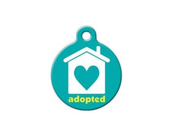 Pet ID Tag- Adopted Pet