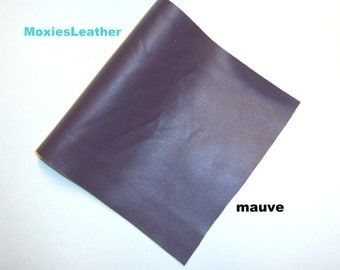 genuine mauve light purple leather journal cover jewellery, crafts