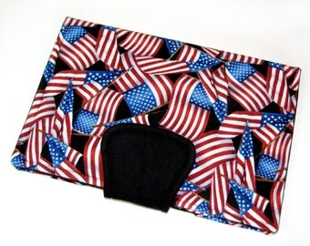 SALE- Kobo Arc Cover Kindle Fire Cover Kindle 3 Cover Kindle Keyboard Case- Ready to Ship- American Flags