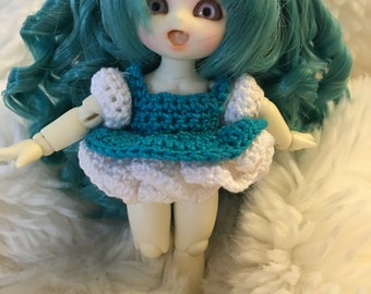 Magical PukiPuki crocheted dress