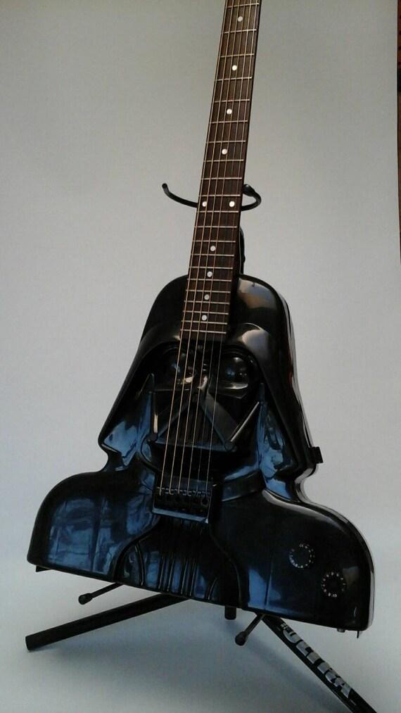 Darth Vader Star Wars Electric Acoustic Ooak Handmade Custom Guitar