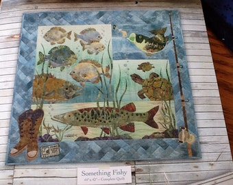 McKenna Ryan - SOMETHING FISHY - Complete Quilt Pattern Only