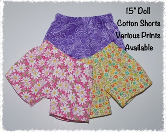 """Bitty Baby Cotton Shorts (15"""" doll)"""
