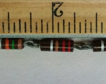 "3/8"" Brown Banded Resistor Links (x5)"