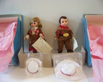 Grand Ole Opry set of 2 madame alexander ind boxed