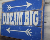 Rustic Pallet Sign Dream Big