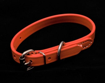 Custom DOG COLLAR made from beta biothane**5/8 inch width