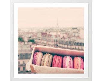 SALE Paris macarons, Paris print, Paris canvas art, Paris photography, macaroons, francophile gift, Paris wall art, Paris photo, Paris decor