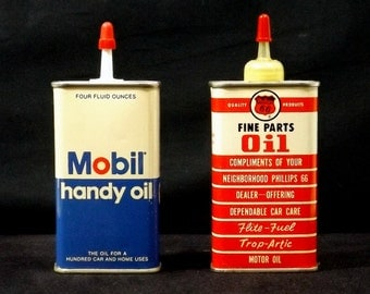 Mobil and Phillips 66 Handy Oilers