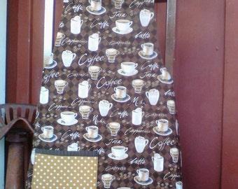 Coffee Time Bib Apron