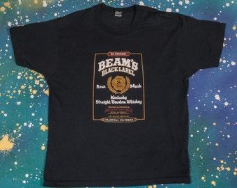 Jim BEAM Black Label Bourbon WHISKEY T-Shirt