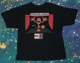 SPANK The MONKEY T-Shirt Size M