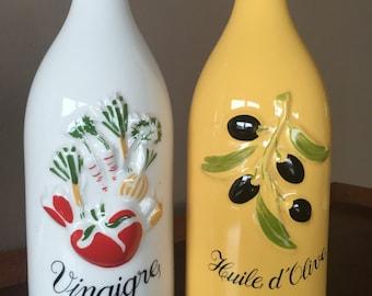 Revol La Porcelaine France Vinegar and oil servers
