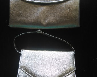 Vintage duo gold small evening purses